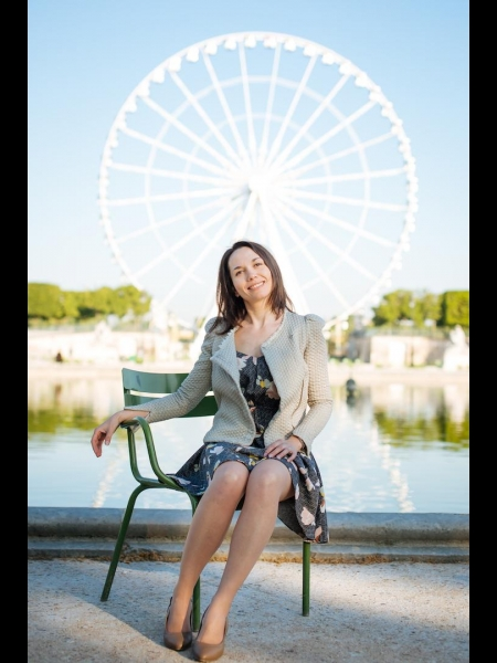 Galina (Paris) / Réf. 9715 / Adhérente Agence Amélie